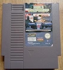 Nigel Mansell's World Championship Nintendo NES 8bit (C.2.4)
