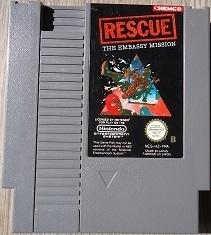 Rescue: The Embassy Mission Nintendo NES 8bit (C.2.2)