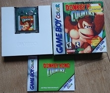 Donkey Kong Country Boxed - Nintendo gameboy Color GBC