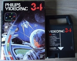 Philips Videopac 34 Satelite Attack (O.1.1)