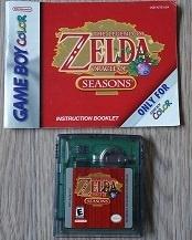 The Legend of Zelda Oracle of Seasons Nintendo Gameboy Color GBC (B.6.1)