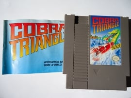 Cobra Triangle Nintendo NES 8bit(C.2.8)