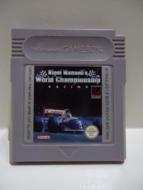 Nigel Mansell`s World Championship Racing   Nintendo Gameboy GB / Color / GBC / Advance / GBA (B.5.1)
