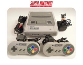 Super Nintendo Console 16 Bit SNES 2x controller Startset pack