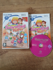 Babysitting Party - Nintendo Wii  (G.2.1)