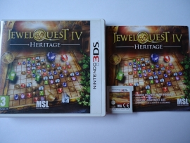 JewelQuest IV Heritage  -Nintendo 3DS 2DS 3DS XL