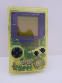 Nintendo Gameboy Classic helder doorzichtig Yellow GB - nieuw staat DMG-01 (B.1.1)