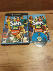 De Sims 2 Huisdieren - Nintendo Gamecube GC NGC  (F.2.2)