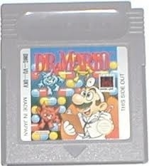 Dr. Mario Nintendo Gameboy GB / Color / GBC / Advance / GBA (B.5.1)