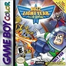 Buzz lightyear of Star Command Nintendo Gameboy Color GBC