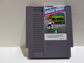 Family Fun Fitness Athletic World - Nintendo NES 8bit - PAL USA (C.2.3)