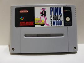 Pink Goes To Hollywood - Super Nintendo / SNES / Super Nes spel 16Bit (D.2.9)