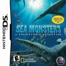 Sea Monters - A Prehistoric Adventure - Nintendo ds / ds lite / dsi / dsi xl / 3ds / 3ds xl / 2ds