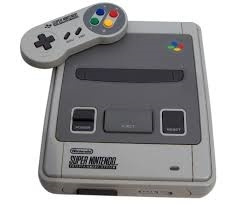 Super Nintendo / snes / Super Nes spelcomputer 16 Bit met super mario world