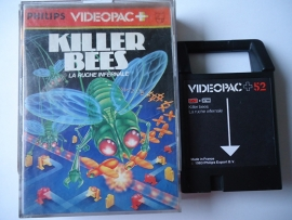 Philips Videopac 52 Killer Bees (O.1.1)