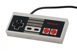 Nintendo Nes 8 Bit Controller orgineel gebruike staat (C.3.1)
