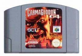 Carmageddon Nintendo 64 N64 (E.2.1)