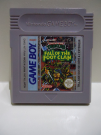 Turtles Fall Of The Foot Clan - Nintendo Gameboy GB / Color / GBC / Advance / GBA (B.5.2)
