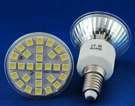 Pure White 5W 500lm E14 29 SMD 5050 LED energy-saving Spot Light Lamp Bulb H8