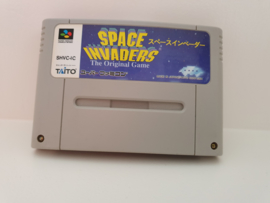 Space Invaders - Super Nintendo / Super Famicom/ SFC / SNES / Super Nes spel 16Bit - NTSC JPN (D.2.12)