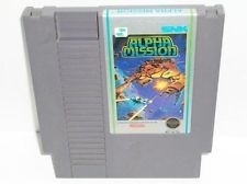 Alpha Mission Nintendo NES 8bit (C.2.8)