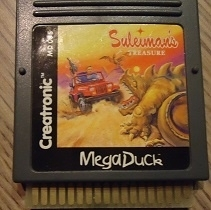 Suleimans Treasure  Mega Duck spel / Cougar Boy( MD 005 ) (R.1.1)