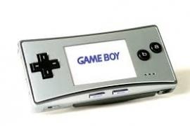 Nintendo Gameboy Micro GBM - Nieuw staat krasvrij - Zilver (B.1.3)