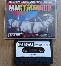 Martianoids - MSX 64K