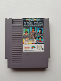 Wrestle Mania Steel Cage Challenge - Nintendo NES 8bit - Pal B (C.2.8)