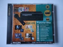 CDi 470 Tutorial Disc Philips CD-i (N.2.1)