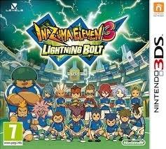 InaZuma Eleven 3 - Lightning Bolt - Nintendo 3DS 2DS 3DS XL  (B.7.1)