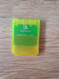 Sony Playstation 1 PS1 Memory Card 1Mega (H.3.1)
