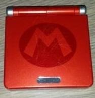 Nintendo Gameboy Advance SP - gebruikte staat - Mario edition - GBA SP (B.1.3)