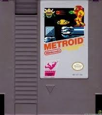 Metroid Nintendo NES 8bit (C.2.1)