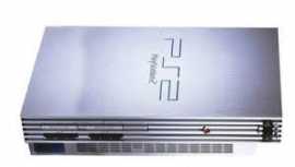 Sony Playstation 2 Zilver fat PS2 - PStwo
