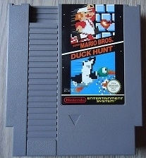 Super mario Bros 1 + Duck hunt Pal Nintendo NES 8bit (C.2.2)