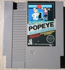 Popeye Nintendo NES 8bit (C.2.2)