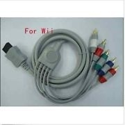 Component HD HDTV AV Adapter Cable Audio Video 5- RCA voor Nintendo Wii