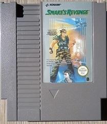 Snake's Revenge Nintendo NES 8bit (C.2.2)