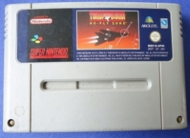 Turn and Burn: No-Fly Zone - Super Nintendo / SNES / Super Nes spel (D.2.6)