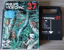 Philips Videopac 37 Monkeyshines (O.1.1)