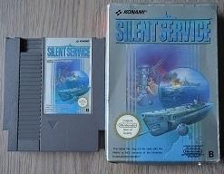 Silent Service Nintendo NES 8bit