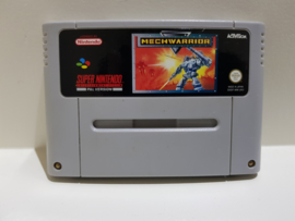 Mechwarrior - Super Nintendo / SNES / Super Nes spel 16Bit (D.2.6)
