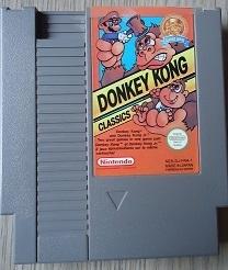 Donkey Kong Classics Nintendo NES 8bit (C.2.4)