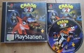 Crash Bandicoot 2 Cortex Strikes Back - Sony Playstation 1 PS1 PSone