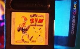 Earth Worm Jim - Menace 2 The Galaxy Nintendo Gameboy GB / Color / GBC / Advance / GBA   (B.6.1)