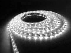 Ledstrip Cool White - Koel Wit - 5050 Led - 1 meter - 60 leds Waterdicht waterproof