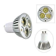 Ledlamp GU10 3W cool white 230v high power leds