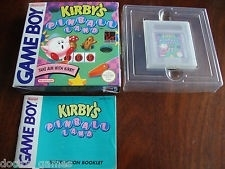 Kirby's Pinball Land Boxed Nintendo Gameboy GB / Color / GBC / Advance / GBA