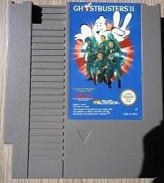 Ghostbusters II Nintendo NES 8bit (C.2.2)